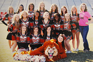 Kountze Cheerleaders