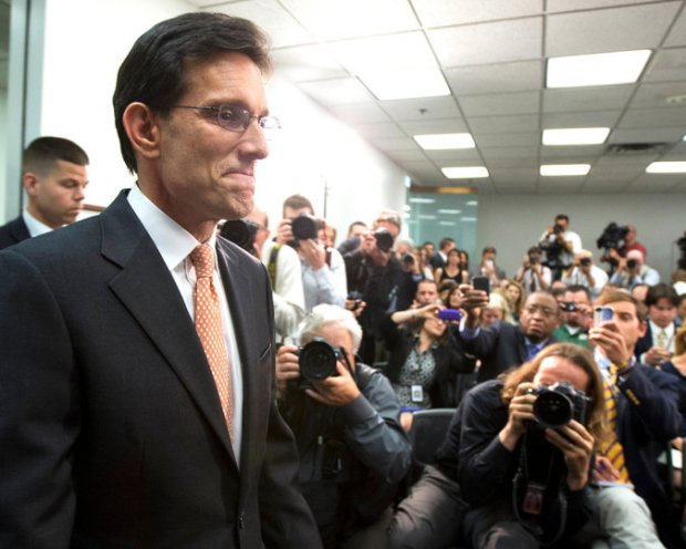 Eric Cantor, the House majority leader and Republican from Virginia, lost his primary last week, to the surprise of many. Credit Manuel Balce Ceneta/Associated Press