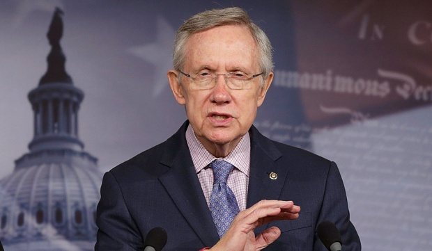 Process as Politics: Senate majority leader Harry Reid (Win McNamee/Getty Images)