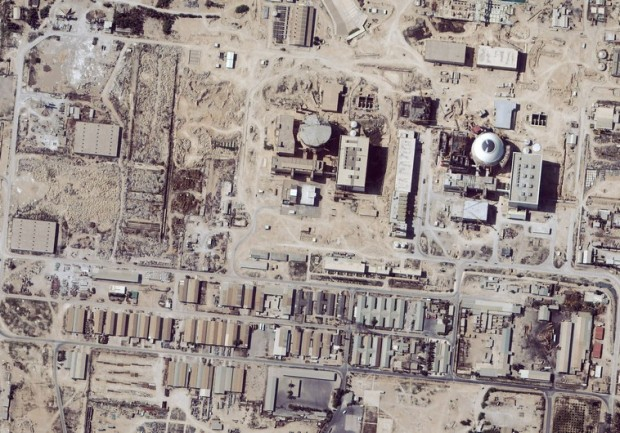 Satellite images of Iranian nuclear facility (file). (photo credit:REUTERS)