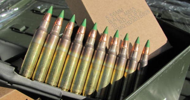 "The .223-caliber ammo in question is easily recognizable by its ""green tip."""
