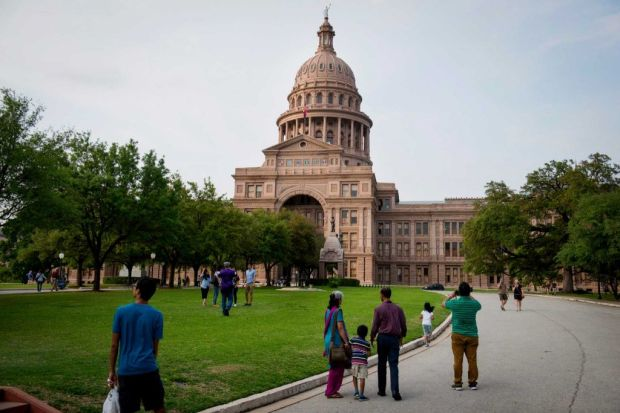 Image of Texas Capitol from Houston Chronicle