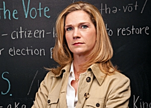 Watchdog.org photo FIGHTING INFLATION: True the Vote's Catherine Engelbrecht threatens legal action if counties don't purge their bloated voter-registration rolls