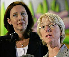 Senators Patti Murray and Maria Cantwell