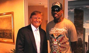 Donald Trump and Dennis Rodman