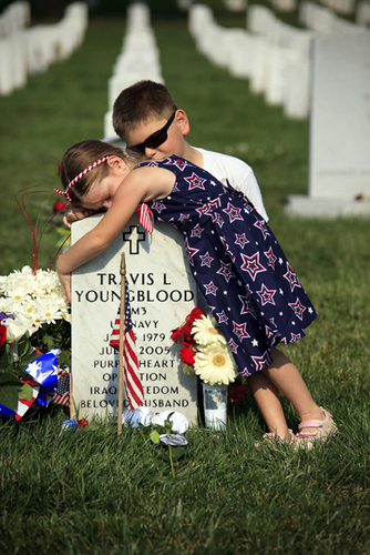 Girl on Vets Tombstone.jpg